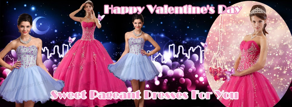 Elegant Pageant Dresses Collection