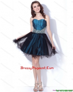 Multi Color Sweetheart Sequined and Ruffled Stunning Pageant Dresses for 2015
