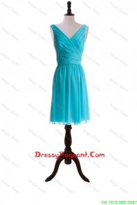 Custom Made Empire V Neck Pageant Dresses with Sashes for Graduation