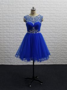 Vintage Sleeveless Zipper Mini Length Beading and Ruching Winning Pageant Gowns