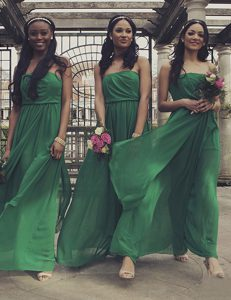 Designer Green Sleeveless Chiffon Zipper Pageant Dress for Prom and Party