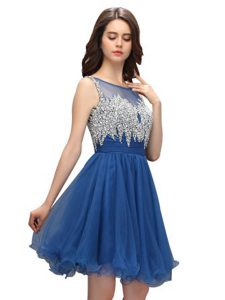 Sophisticated Sleeveless Beading Zipper Glitz Pageant Dress