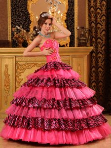 Bright Sweetheart Pageant Dresses for Miss World in Organza and Zara