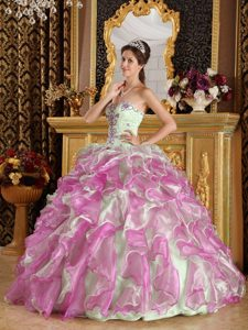Sweetheart Fuchsia and Apple Green Gorgeous Pageant Dresses for Girls