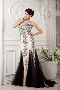 Champagne Tulle and Satin Miss Universe Pageant Dresses with Appliques