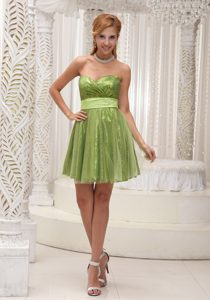 Lovely Empire Sweetheart Tulle Glitz Pageant Dress with Sash and Sequins