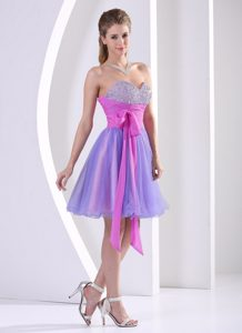 Beaded Sweetheart Muti-Color Cute A-line Youth Pageant Dresses with Sash
