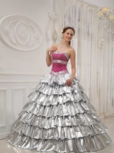 Cheap A-line Beaded Strapless Pageant Dress Patterns in Satin and Taffeta