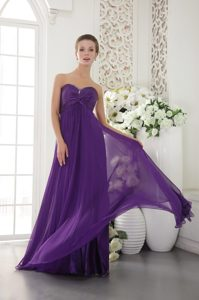 Beading Eggplant Purple Natural Beauty Pageants Dresses with Sweetheart Neck